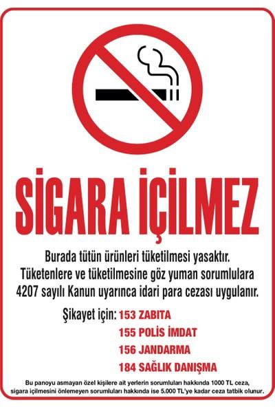 Eymen Sigara İçilmez Afişi Karton Baskı 400 gr