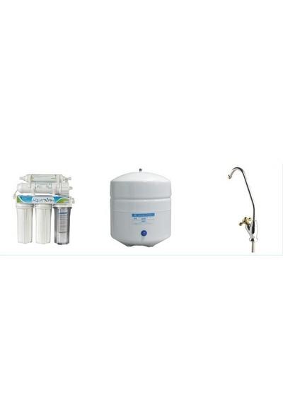 Aquatürk Tezgahaltı Pompasız Su Arıtma Cihazı