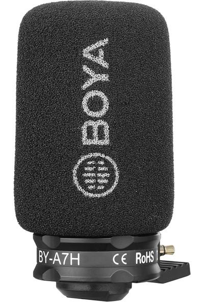 Boya BY-A7H Condenser Telefon Mikrofonu