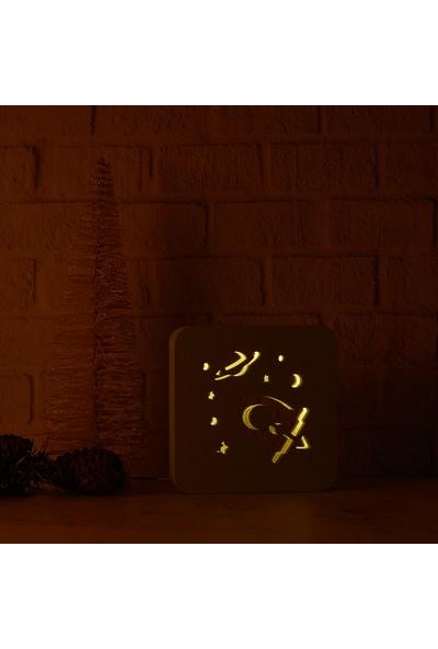Bebebox Gece Lambası Uzay Yolu