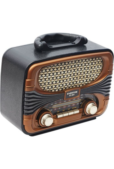 Everton RT-807 Nostaljik Bluetooth / Fm Radyo / USB / Sd Kart