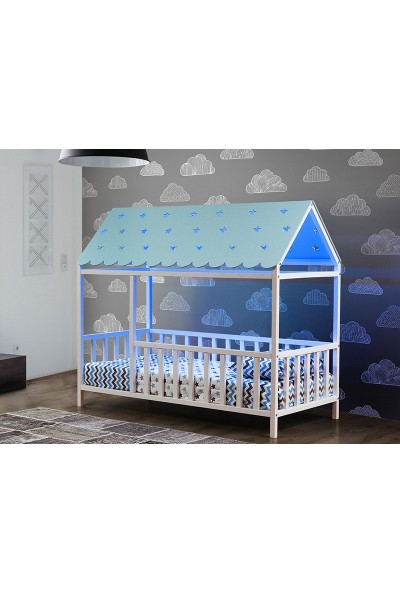 Yıldız Mobilya Montessori Yatak Mavi 1150 Bmçl