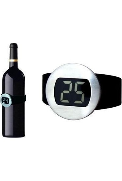 Arin Şarap Termometresi Aksesuarı Malzemesi Hediye Şişe Hediyelik