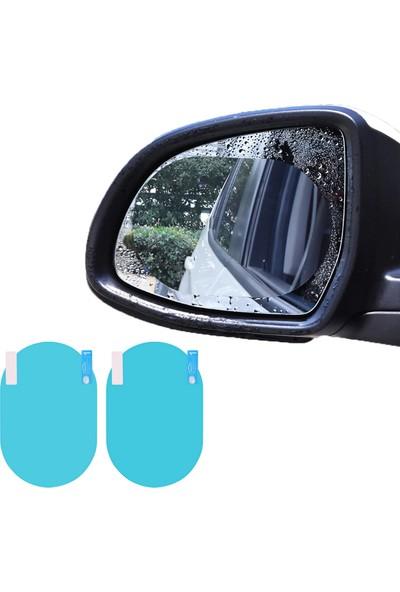Oto Aksesuarcım Yan Dikiz Ayna Yağmur Kaydırıcı Film Oval