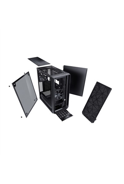 Fractal Design Meshify C Dark ATX Bilgisayar Kasası FD-CA-NODE-304-BL