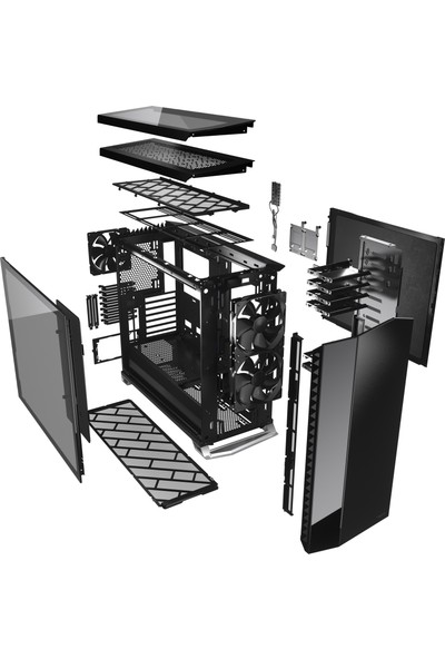 Fractal Design Vector Rs Dark ATX Bilgisayar Kasası FD-C-VER1A-02
