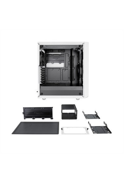 Fractal Design Meshify C ATX Bilgisayar Kasası FD-CA-MESH-C-WT-TGC