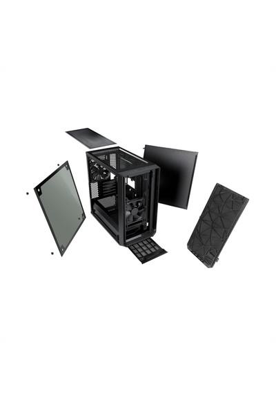Fractal Design Meshify C Mini Dark ATX Bilgisayar Kasası FD-CA-MESH-C-MINI-BKO-TGD