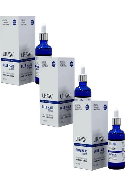 Uraw Blue Hair Mavi Serum 50 ml 3'lü Paket