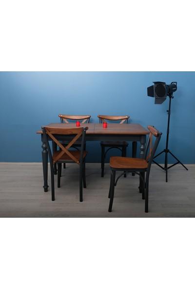 Deka Style Rustik Mutfak Masa Takımı