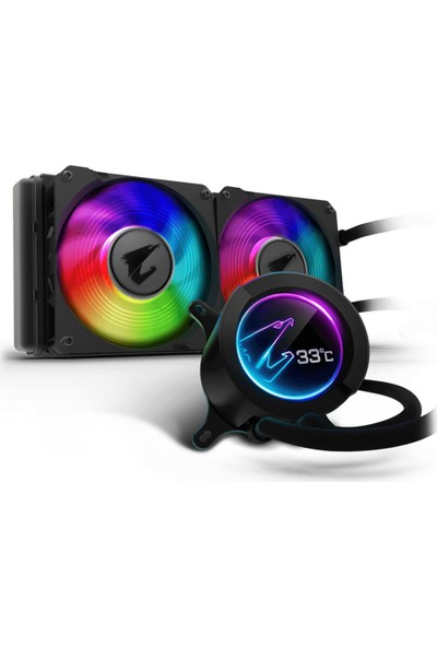 Gigabyte Aorus Liquid Cooler 240 RGB Sıvı Soğutma Kiti GP-ALQCO240