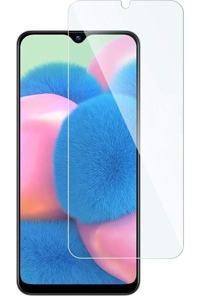 Microcase Samsung Galaxy A30s Tempered Glass Cam Ekran Koruyucu