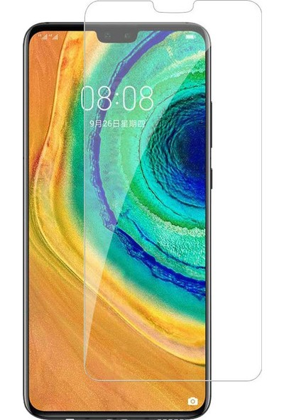 Microcase Huawei Mate 30 Tempered Glass Cam Ekran Koruyucu