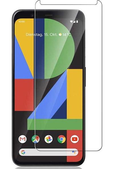Microcase Google Pixel 4 XL Tempered Glass Cam Ekran Koruyucu
