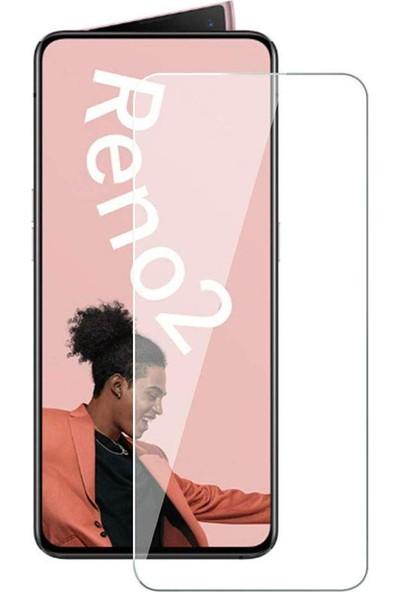 Microcase Oppo Reno 2 Tempered Glass Cam Ekran Koruyucu