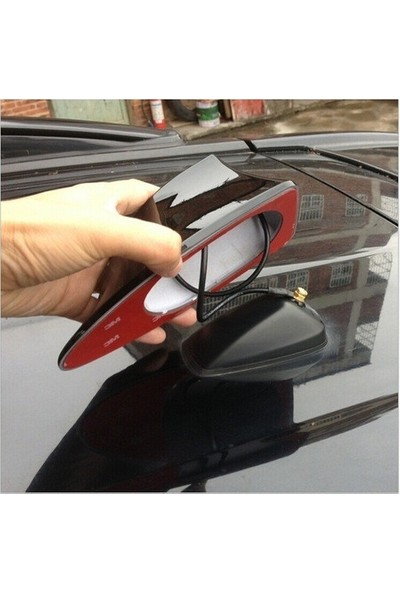 Emroto Volkswagen Polo Shark Köpek Balığı Anten Silikon Tabanlı Siyah