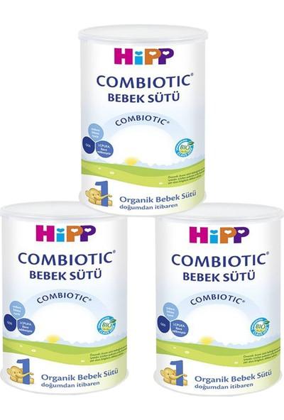 Hipp 1 Organik Combiotic Bebek Sütü 350 gr - 3'lü