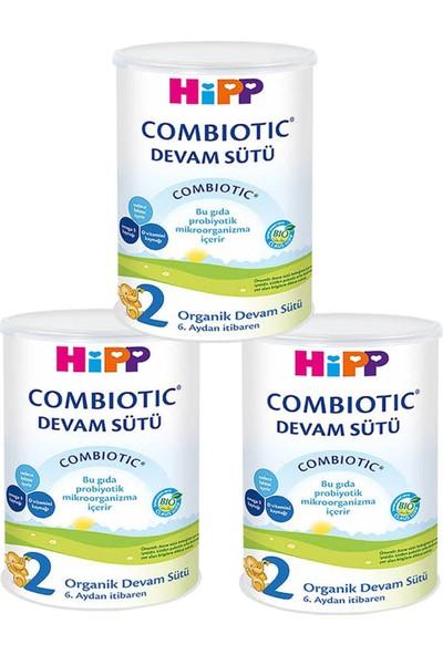 Hipp 2 Organik Combiotic Devam Sütü 350 gr - 3'lü