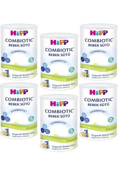 Hipp 1 Organik Combiotic Bebek Sütü 350 gr - 6'lı