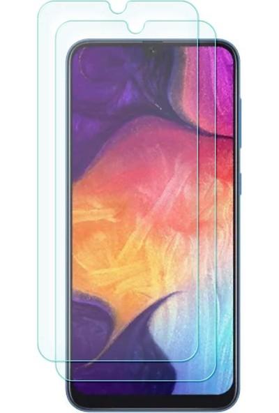 Case 4U Samsung Galaxy M20 Cam Ekran Koruyucu Temperli Şeffaf