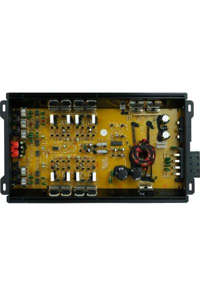 Soundmax 4 Kanal Oto Anfi SX-3000.4AB 4000 Watt
