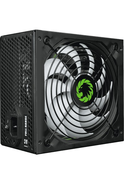 Gamemax GP-650 650W 80+ Bronze 140 mm Sessiz Fanlı Power Supply