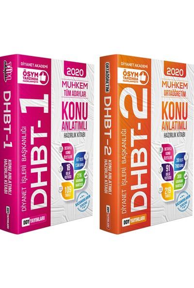 Ddy Yayınları DHBT 2020 Muhkem Serisi Ortaöğretim (Ihl) DHBT-1 DHBT-2 Konu 2'li Set