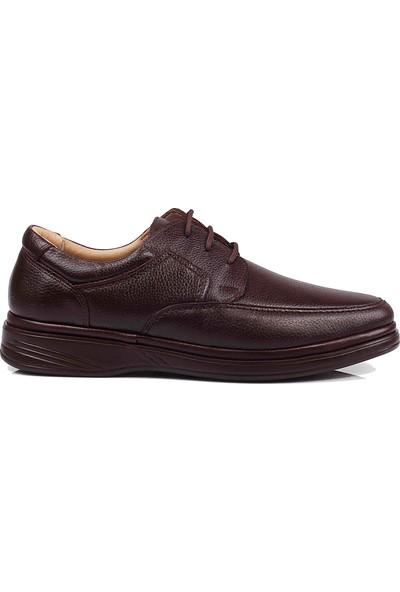 Detector Iç Dış Komple Deri Bağcıklı Büyük Numara Günlük Erkek Ayakkabı (40 - 48)