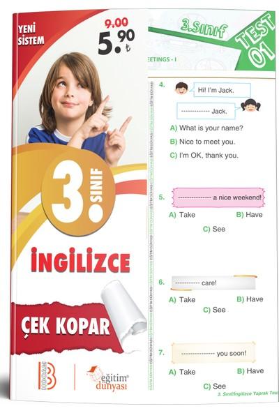 Eğitim Dünyası & Benim Hocam Yayınları - 3. Sınıf Ingilizce Çek Kopar Yaprak Test