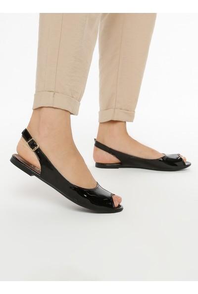 Fox Shoes Siyah Kadın Sandalet B726104508