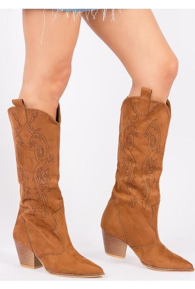 Fox Shoes Taba Kadın Çizme G340078202