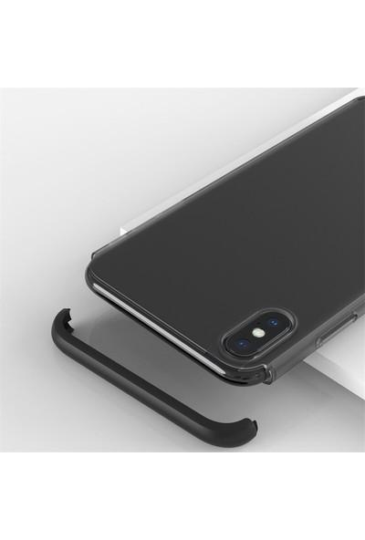 Teleplus Samsung Galaxy M10s 3-1 Ays Buzlu Mat Sert Kılıf Kırmızı