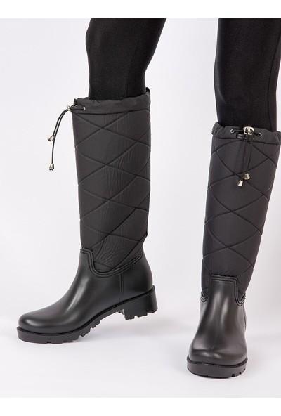 Fox Shoes Siyah Kadın Çizme G476071004