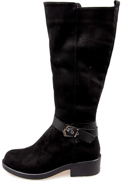 Fox Shoes Siyah Kadın Çizme G674240102