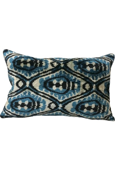 Demeter Tekstil Tasarım Dekoratif Ipek Ikat Kırlent