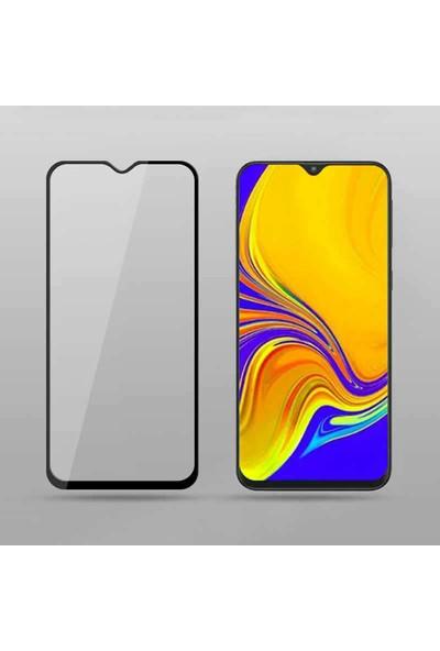 Coverzone Samsung Galaxy M10S Tam Kapatan 5d Ekran Koruyucu Siyah