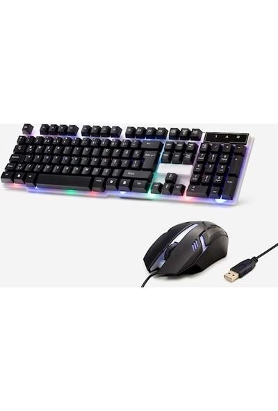 Concord C56 Gamer Combo Rgb Klavye Mouse Set