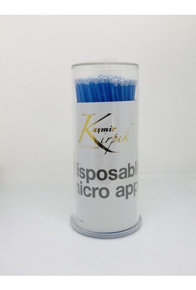 Kaşmir Kirpik Ipek Kirpik, Kalıcı Makyaj Için Microbrush Kirpik Fırçası 100 Adet , Kargo Ücretsiz!