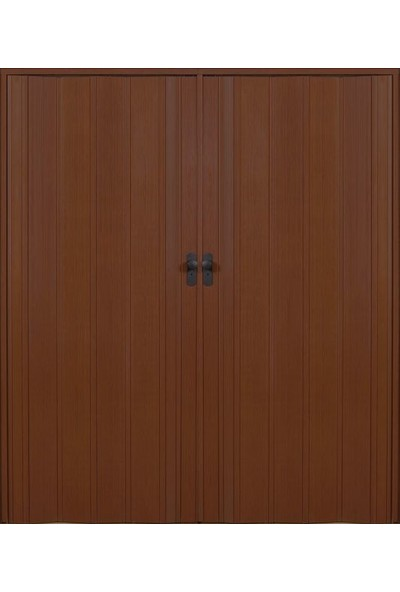 Erikmann Katlanır Akordiyon Pvc Kapı Çift Açılım Ceviz 102 x 205 cm