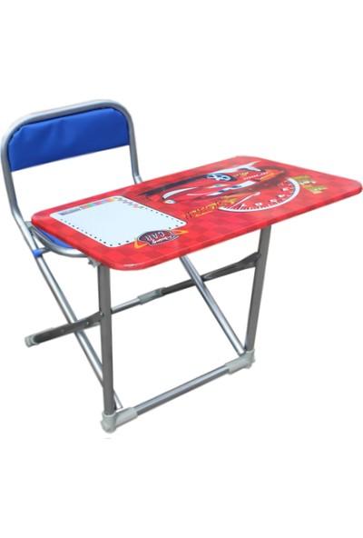 Çocuk Ders Çalışma Birleşik Masa Sandalye Seti