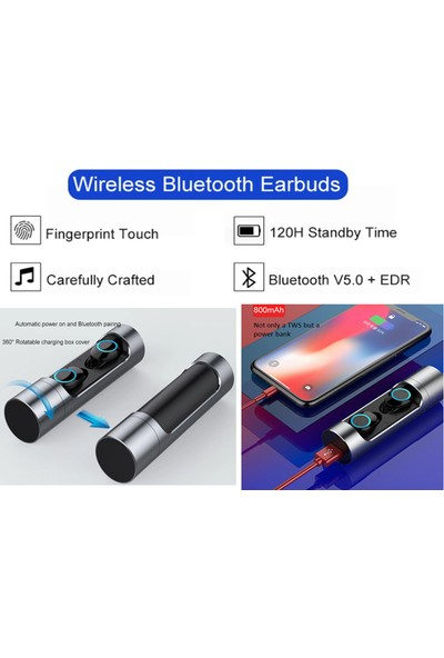 WOOSIC Woozik W350 Bluetooth 5.0 Kulaklık