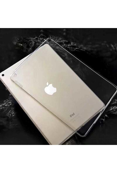 Tekno Grup Apple iPad 10.2'' Kılıf Darbe Emici Süper Silikon Kılıf Şeffaf