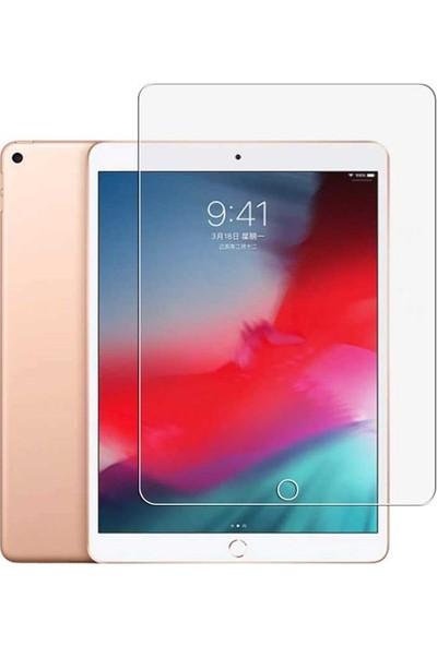 Tekno Grup Apple iPad 10.2'' Kılıf Darbe Emici Süper Silikon Kılıf Şeffaf + Nano Ekran Koruyucu