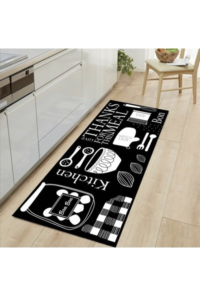 MarkaEv Kitchen 60 Mutfak Halısı 50 x 80 cm