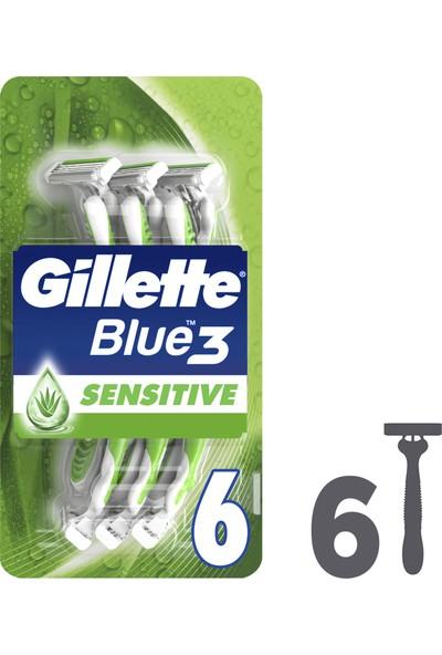 Gillette Blue 3 SenseCare Kullan At Tıraş Bıçağı 6'lı