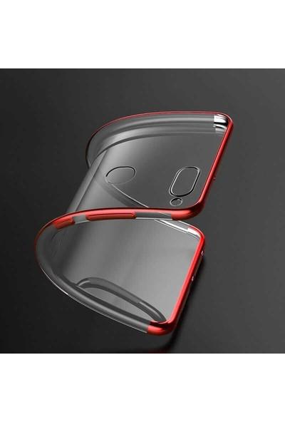 Case Street OPPO A5s Kılıf Colored Silicone Yumuşak Kırmızı