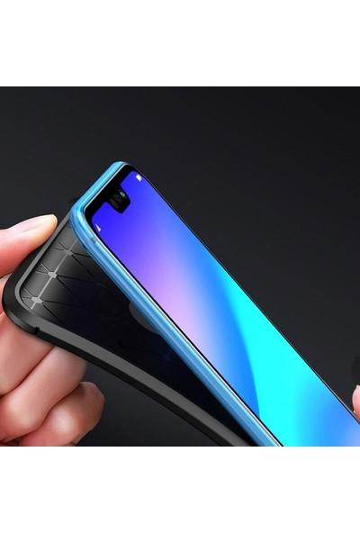 Case Street Samsung Galaxy M10s Kılıf Negro Karbon Dizayn Silikon Siyah