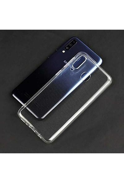Case Street Samsung Galaxy M40 Kılıf Süper Silikon Yumuşak Arka Koruma Şeffaf