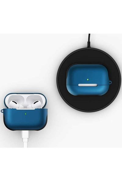 Teleplus Apple Airpods Pro Kılıf Darbe Korumalı Silikon Siyah