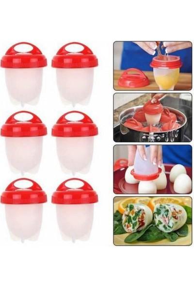 Rana Home Silikon Yumurta Haşlama Kabı 6'lı